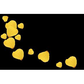 Лепестки желтых роз 10 литров